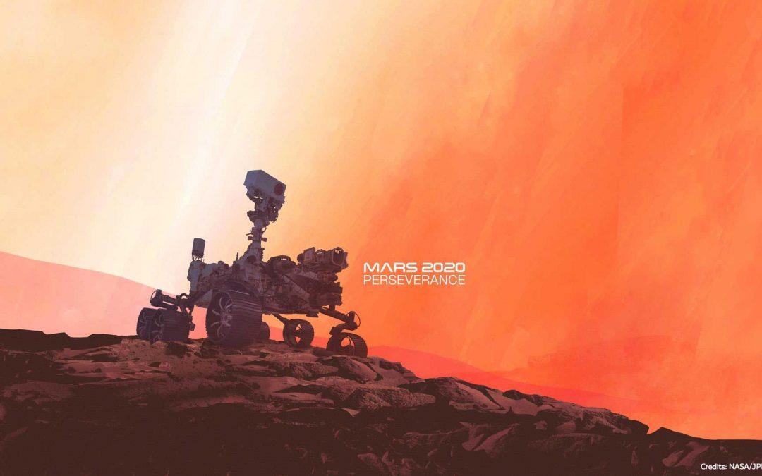 Mars 2020 : atterrissage du rover Perseverance & des composants optiques de Winlight !