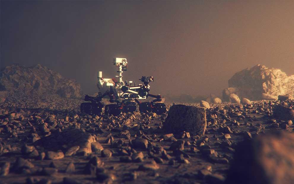 Les optiques Winlight System sont sur Mars