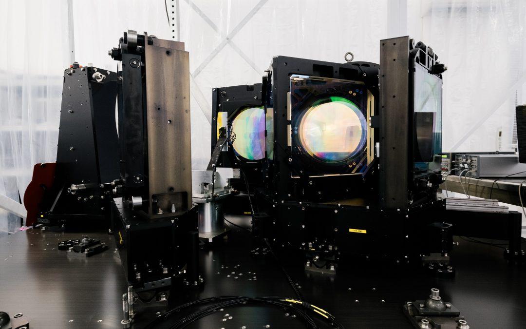Télescope géant Subaru : un spectrographe de l'instrument PFS de Winlight observe pour la première fois un spectre du ciel