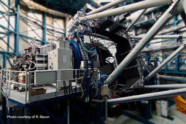 VLT : L'instrument MUSE révèle une « toile cosmique » inconnue dans l'Univers